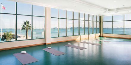 Yoga-rom på hotellet