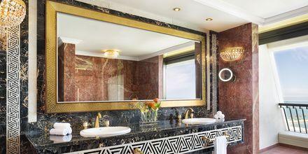 Ett av badene på hotellet