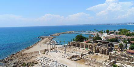 Apollo og Athenas tempel i Side, Tyrkia.