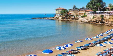 Strand i Side, Tyrkia.