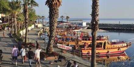 Havnen i Side, Tyrkia.