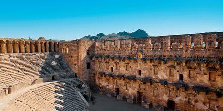 Amfiteateret i Side, Tyrkia.