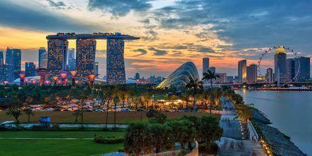 Singapore er Sørøst-Asias minste land og omtales som et Asia i miniatyr.