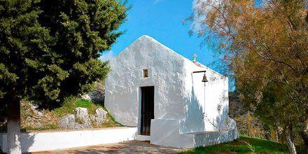 En av byen små kirker