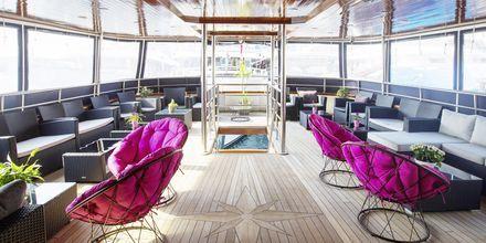 Om bord på MS Captain Bota er det en familiær atmosfære