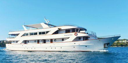 Velkommen om bord på cruiset med MS Captain Bota