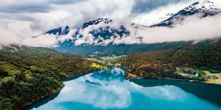 Innsjøen Bled, Slovenia