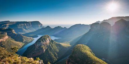 Sør-Afrika – Vakker utsikt over Blyde River Canyon