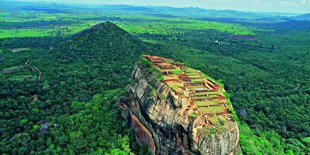 Sigirya Rock på Sri Lanka