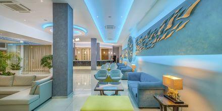 Lobbyen på hotell Stamatia i Ayia Napa, Kypros.