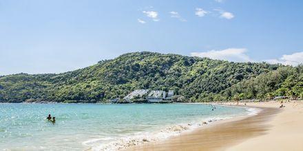 Ca. 300 meter fra hotellet ligger Nai Harn Beach