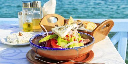 En klassiker; gresk salat!