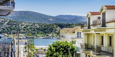 I Kefalonias største by, Argostoli er det mange restauranter og barer.