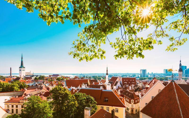 Velkommen til Tallinn, Estland.