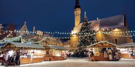 Julemarked i Tallinn, Estland.