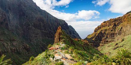 Fjellandsby på Tenerife