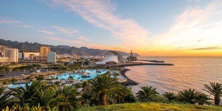 Vakker solnedgang på Tenerife