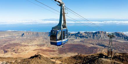 Taubane opp til Teide