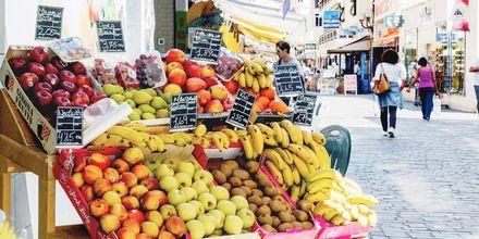 Frisk frukt og grønt i Los Cristianos