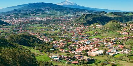 Utsikt over Tenerife