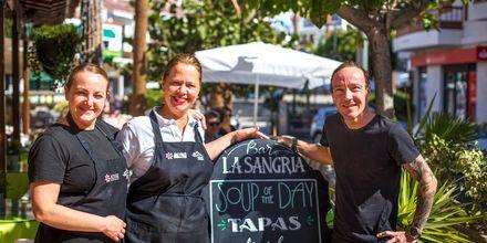 I Los Gigantes & Playa de la Arena er det nok av restauranter å velge blant