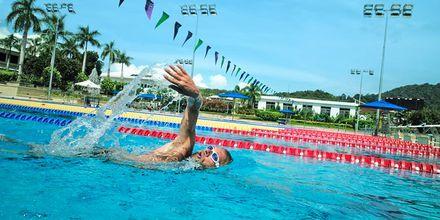 50-meters olympisk basseng