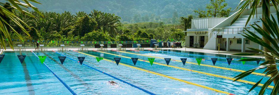 Olympisk basseng på Thanyapura Sport Hotel