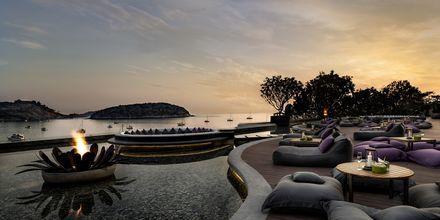 Kveldsstemning på The Nai Harn Phuket