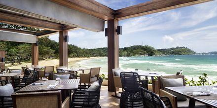 Strandrestauranten på hotellet Nai Harn Phuket