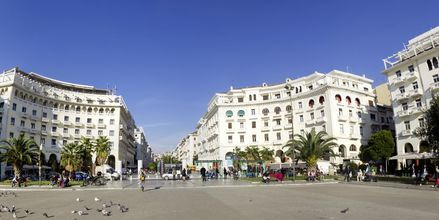 Torg i Thessaloniki, Hellas