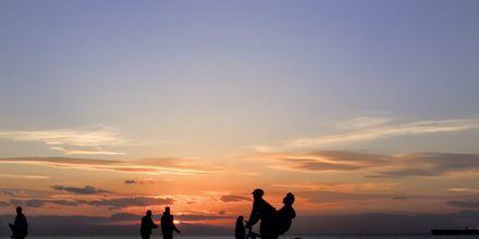 Strandpromenaden i Thessaloniki, Hellas