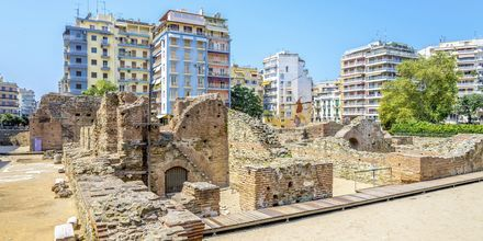 Navarinou Square i Thessaloniki, Hellas