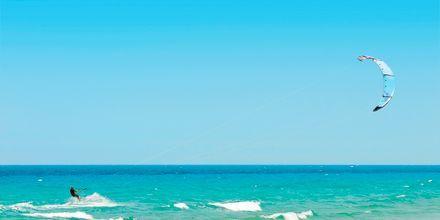 Kite surfing på Kos