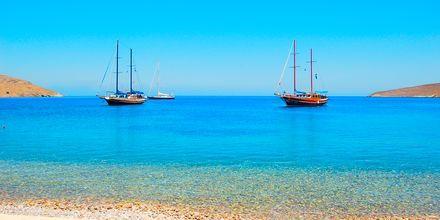 Livadia-stranden på Tilos