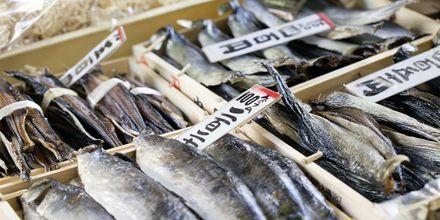 Tokyo Fish Market i Tokyo, Japan – en populær severdighet.