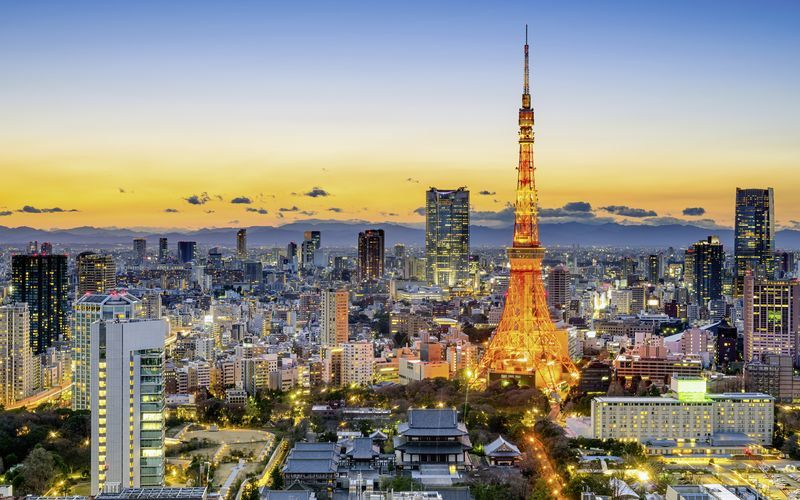 turen går til tokyo
