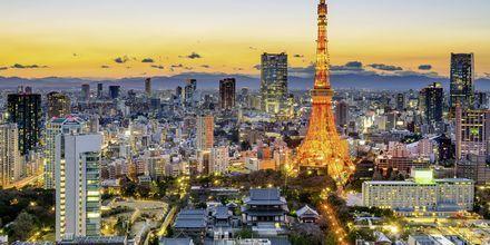 Tokyoområdet er verdens mest folkerike hovedstad.