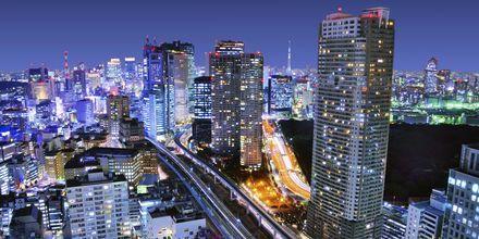 I Tokyo blandes skyskrapere med gamle japanske tradisjoner.