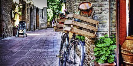 Nyt det gode liv i Toscana.