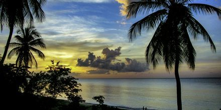Solnedgang over Tobago