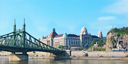 Legendariske Hotel Géllert i Budapest