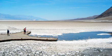 Death Valley i Mojaveørkenen i California