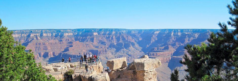 Grand Canyon i delstaten Arizona i USA