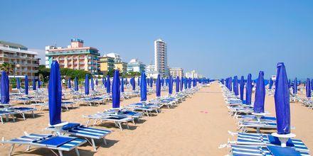 Det er ikke langt fra Venezia til fine badestrender i Lido di Jesolo