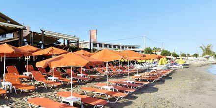Stranden ved Villa Dora