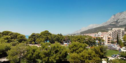 Utsikt fra Villa Mirakul