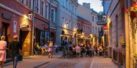 Gamlebyen i Vilnius, Litauen.