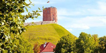 Gediminas, et tårn fra middelalderen i Vilnius – Litauen.