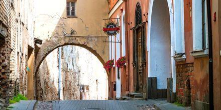 Gamlebyen i Vilnius.