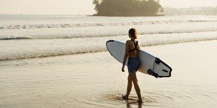 Weligama Bay passer for den som vil prøve surfing